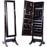 150CM großer Spiegelschrank. Der  Schmuckschrank ist Spiegel und Schmuckkasten in einem. Der Standspiegel im schicken Weiss. Infos dazu auf: www.ztyle.de