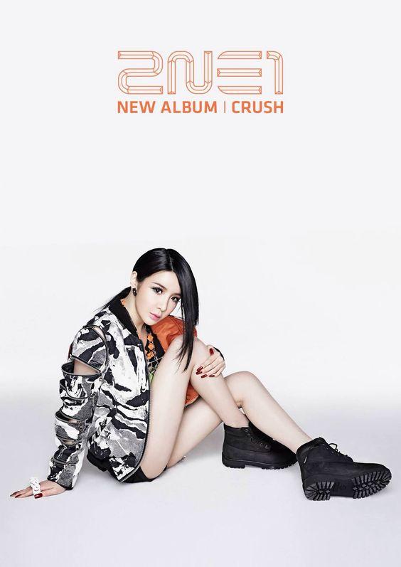 2NE1 - 'Crush' 2nd Album Promos!