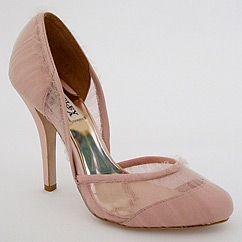 Dusk Pink Tulle Shoes SALE!!! $125 - perfectdetails.com