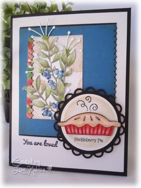 Huckleberry Pie Card