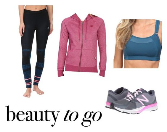 """""""Run the World in New Balance"""" by evagibson ❤ liked on Polyvore featuring New Balance and NewBalance"""