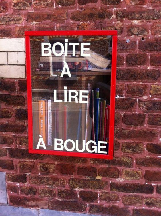 boîte à livres Bouge Namur