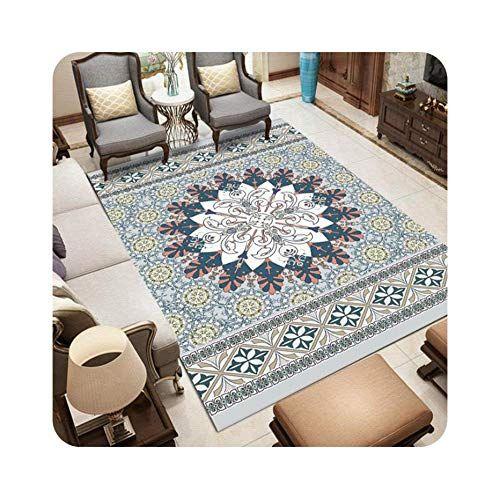 Printed Carpets For Living Room Persian Style Bedroom Carpet Sofa Coffee Table Rug Floor Mat Study Room Area R In 2020 Area Room Rugs Living Room Carpet Bedroom Carpet