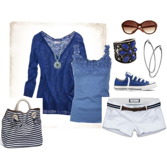 Blues, created by sapple324 on Polyvore