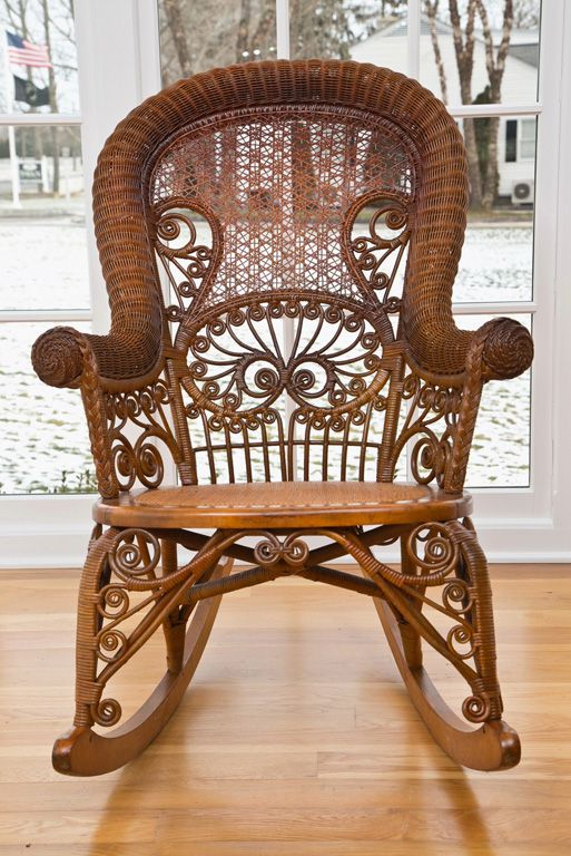 Wicker, Rockers and Victorian on Pinterest