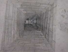Art in the Middle...school: Stuck in a Hole