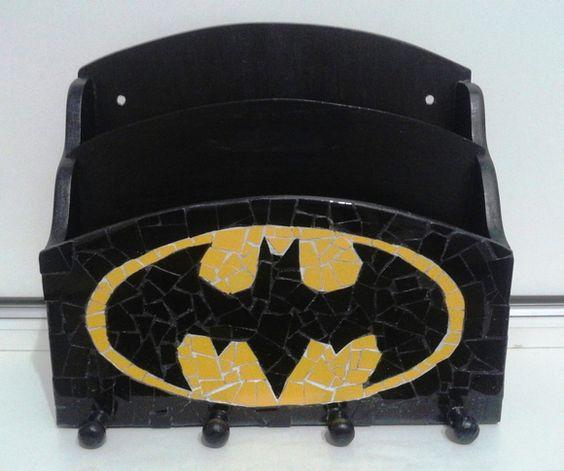 BATMAN - PORTA CARTAS E CHAVES