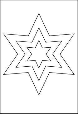 Pin Von Viktoria Matsur Auf Nikolaus Malvorlage Stern Sterne Basteln Vorlage Vorlage Stern