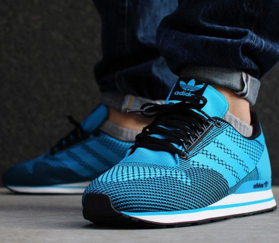 nike corée uniforme - adidas ZX 500 Weave-Solar Blue-Black | Feet Pajamas | Pinterest ...