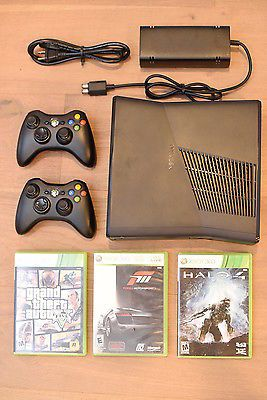 Xbox 360 Two Wireless Remotes Halo 4 Forza Motorsport 3 Grand Theft Auto 5 https://t.co/Wez28puItO https://t.co/HJF5ATp2f3