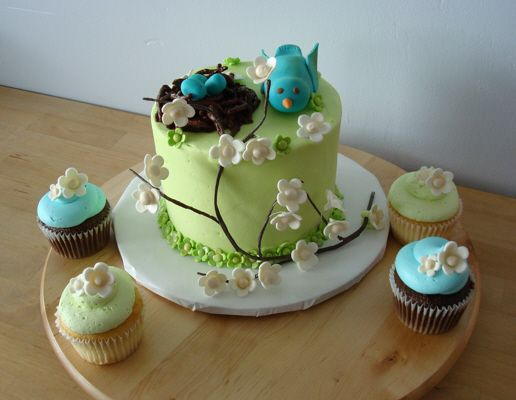 Baby Shower Cake by Windy City Cakery