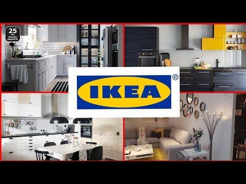 جولة في ايكيا منظمات المطبخ ديكورات المنازل أواني خزانات صالونات أفكار لتزيين المطبخ Ikea Kitchen Youtube Flat Screen Electronic Products Flatscreen Tv