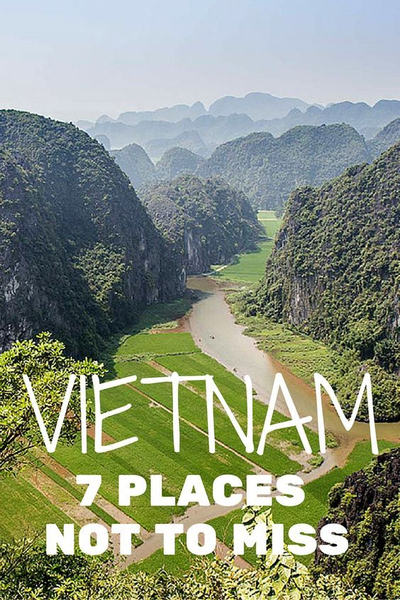 Vietnam is quickly becoming one of the most popular destinations in Southeast Asia and it's easy to see why. The country offers stunning landscapes, delicious food, a fascinating history, and friendly people. Here are the 7 Places Not to Miss in Vietnam by Michael Turtle on #PacSafeTravel