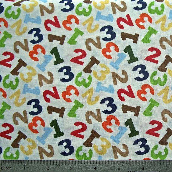 COUPON Code Sale  Jungle Numbers Springs by fabricalacarte on Etsy