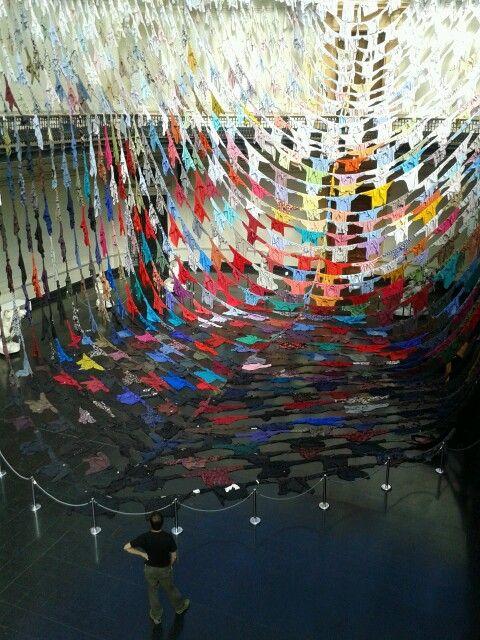 Instalación en el Bellas Artes