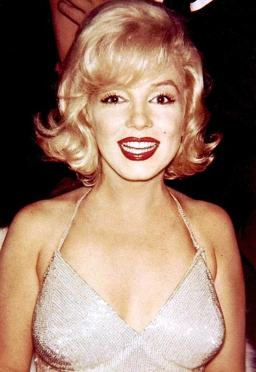 """missingmarilyn: """"Marilyn Monroe at Yves Montand's one-man show, 1959. """""""