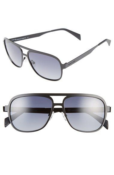 Italia Independent 51mm Aviator Sunglasses