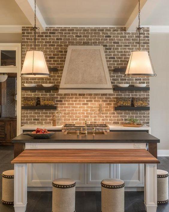 kitchen brick backsplash cottage kitchen brick backsplash view gallery brick kitchen backsplash extended
