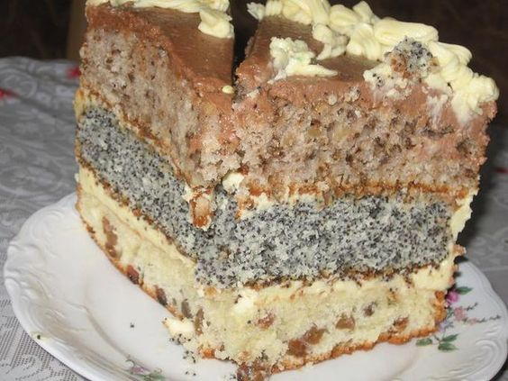 CAKE CAPRICE Each cake we need to take: — 0.5 cups of sour cream — 0.5 cups sugar — 1 egg.....