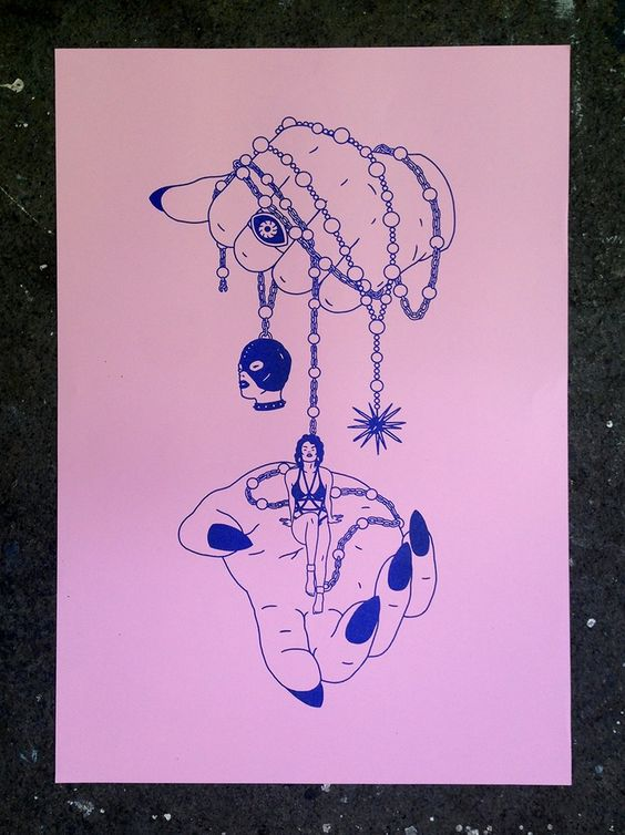 Image of 'INNOCENCE' Risograph Print *NEW*