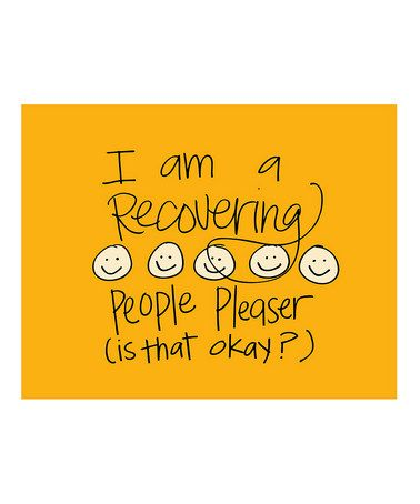 Take a look at this 'People Pleaser' Print by Doodle Art Prints by Doodli-Do's on #zulily today!