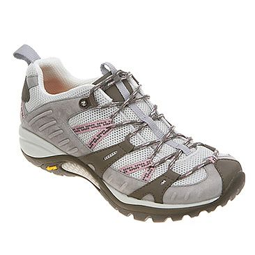 My Merrell Siren Sport in Elephant/Pink - I wear these for general stuff and for hiking.