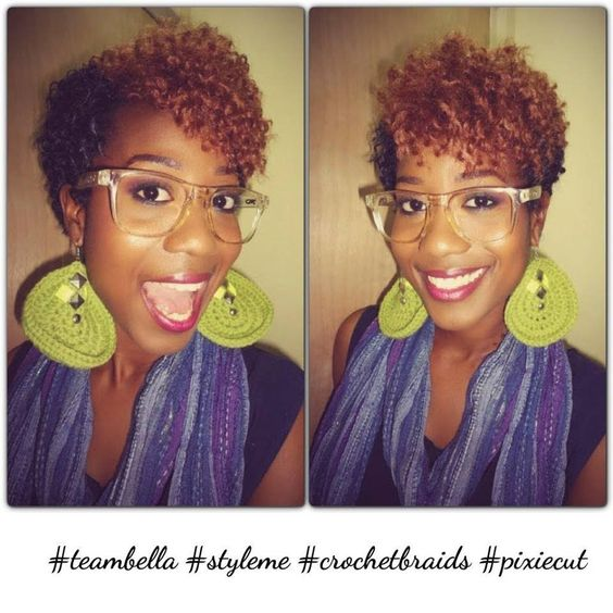 Crochet Hair Pixie Cut : Crochet braids, Pixie cuts and Braids on Pinterest
