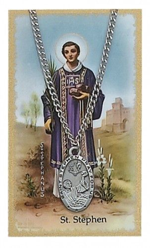 St Stephen Pray Card Set