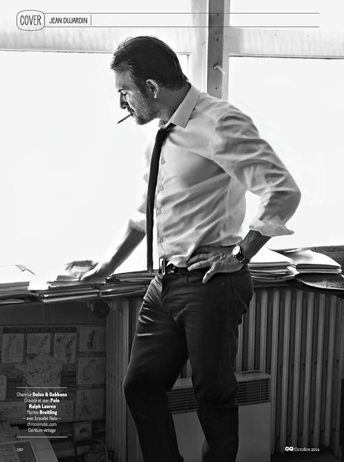 Jean dujardin for gq france oct 2014 on my parade for Dujardin pierre