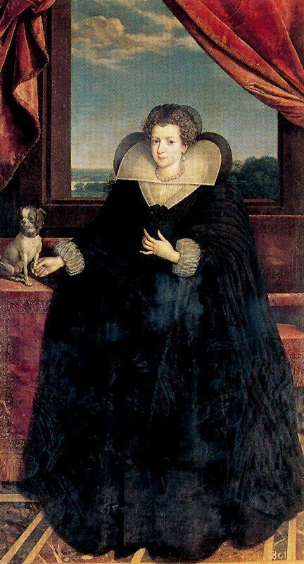 Frans Pourbus - Elisabeth de France