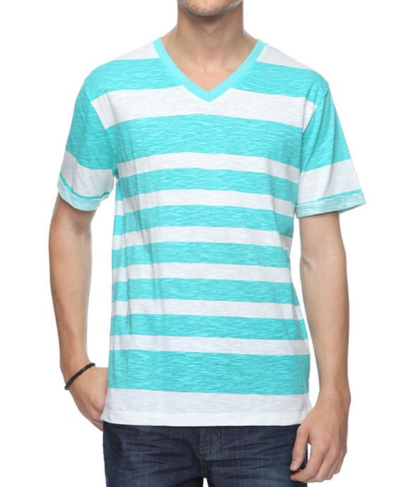 Bold Stripe Top | 21 MEN - 2000034029