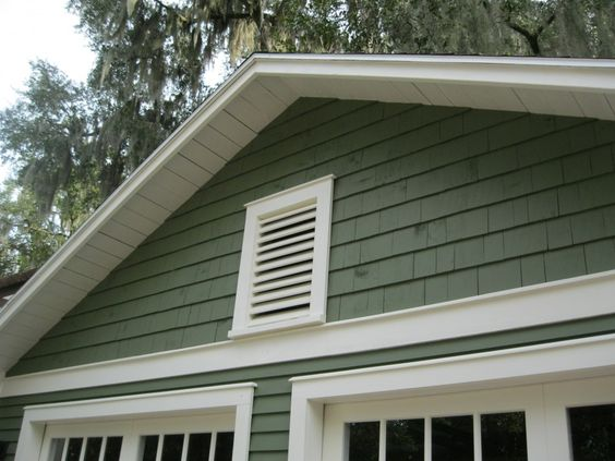 Sheds board and batten and florida on pinterest for Gable garage