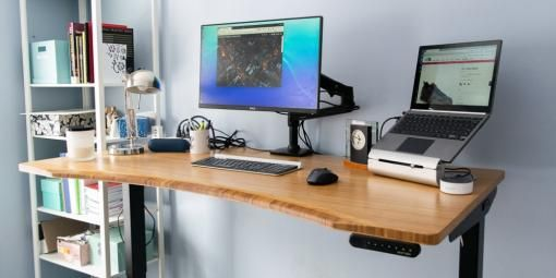 The Best Standing Desks For 2020 Reviews By Wirecutter Homeoffice Home Office Standing Desk Home Of In 2020 Best Standing Desk Home Office Setup Diy Desk Plans