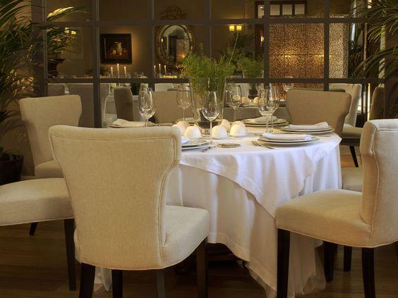 Restaurant Filigrana at Hotel Spa Relais & Chateaux A Quinta da Auga in Santiago de Compostela, Spain