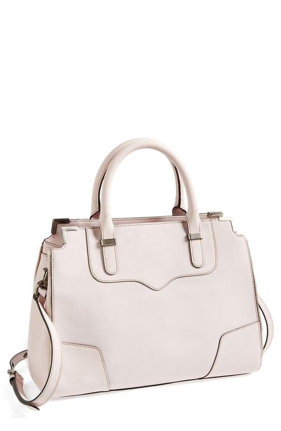 bab41cd56a27 Rebecca Minkoff Leather Satchel. Handbags ...