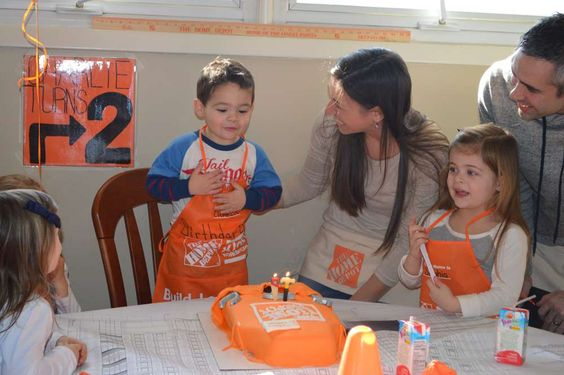 Make Something on The Home Depot Birthday Party