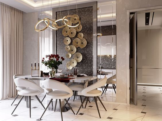 37 Luxury Design Dining Room Ideas With Modern Lighting Luxury Dining Room Dining Room Design Modern Dining Room
