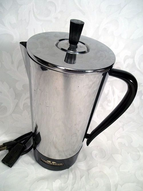 Vintage art deco toastmaster 9 cup automatic coffee maker percolator model m501 Models, Coffee ...