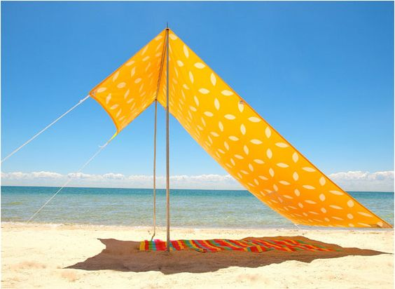 Stylish Sun Shades for the Summer Beachgoer : Remodelista