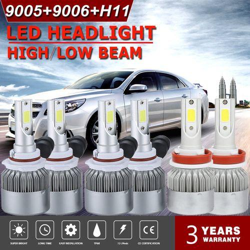9005 H11 9006 6000k 3900w 585000lm Combo Led Headlight Kit Hi Low Bulbs Led Headlights Led H11 Led