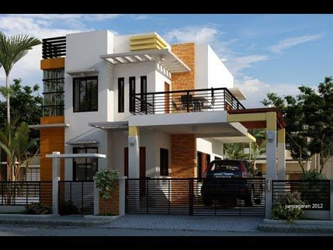 50 Photos Of Beautiful Two Story House Design With Balcony That