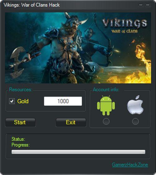 Hack Vikings War of Clans на