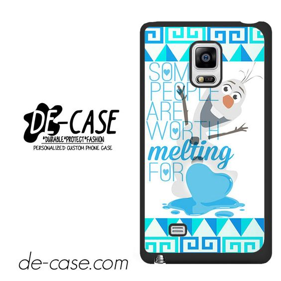 Olaf Quote Disney Frozen DEAL-8148 Samsung Phonecase Cover For Samsung Galaxy Note Edge
