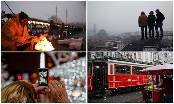 In Photos: Istanbul welcomes 2016 covered in snow