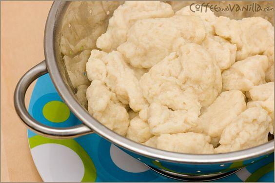Kluski Kładzione (Polish Dumplings)