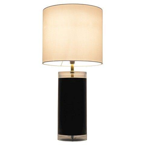 Room Essentials™ Acrylic Table Lamp Ebony