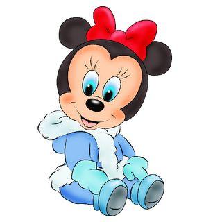 Disney Character Xmas Cliparts