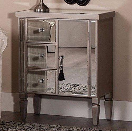Venetian Mirrored Cabinet Silver, Small Venetian Mirrored Sideboard