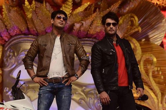 R.K and Shiv in Colors Golden Petal Awards