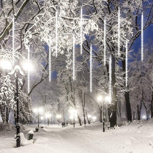 Top 10 Best Snowfall Led Lights For Outdoor Decoration In 2021 Thez7 Led Christmas Lights Decorating With Christmas Lights Christmas Lights